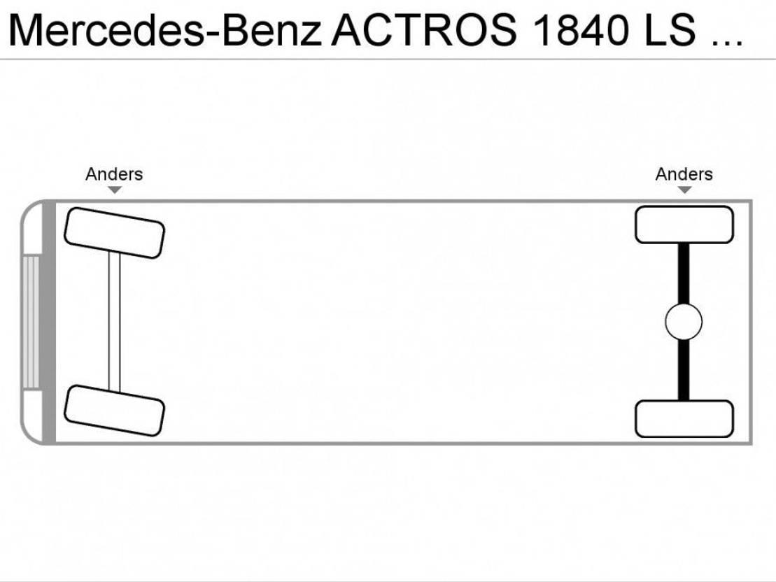overige trekkers Mercedes Benz ACTROS 1840 LS 4x2 | Truck huur 999,- p.m. 2016