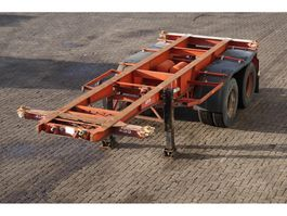 container chassis oplegger Van Hool Container chassis 20ft. / Steel suspension 1982