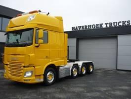 zware last trekker DAF FTM XF 106.510 8x4-4 Heavy duty 120.000 Kg  Euro 6 Super space cab 2015