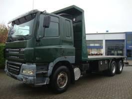platform vrachtwagen DAF 480 6X4 STEEL SPRINGS 8 M CHASSIS 2002