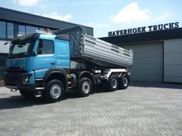 kipper vrachtwagen > 7.5 t Volvo FMX 540 8x6  Euro 6  3 Side Meiller Tipper 2014