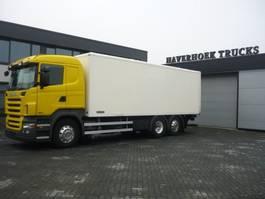 bakwagen vrachtwagen > 7.5 t Scania R 480 6x2-4 euro 5 Retarder 2009