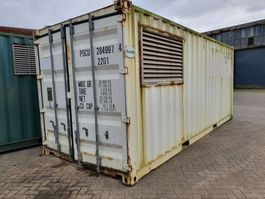 dry standaard zeecontainer Container 20ft Gensets