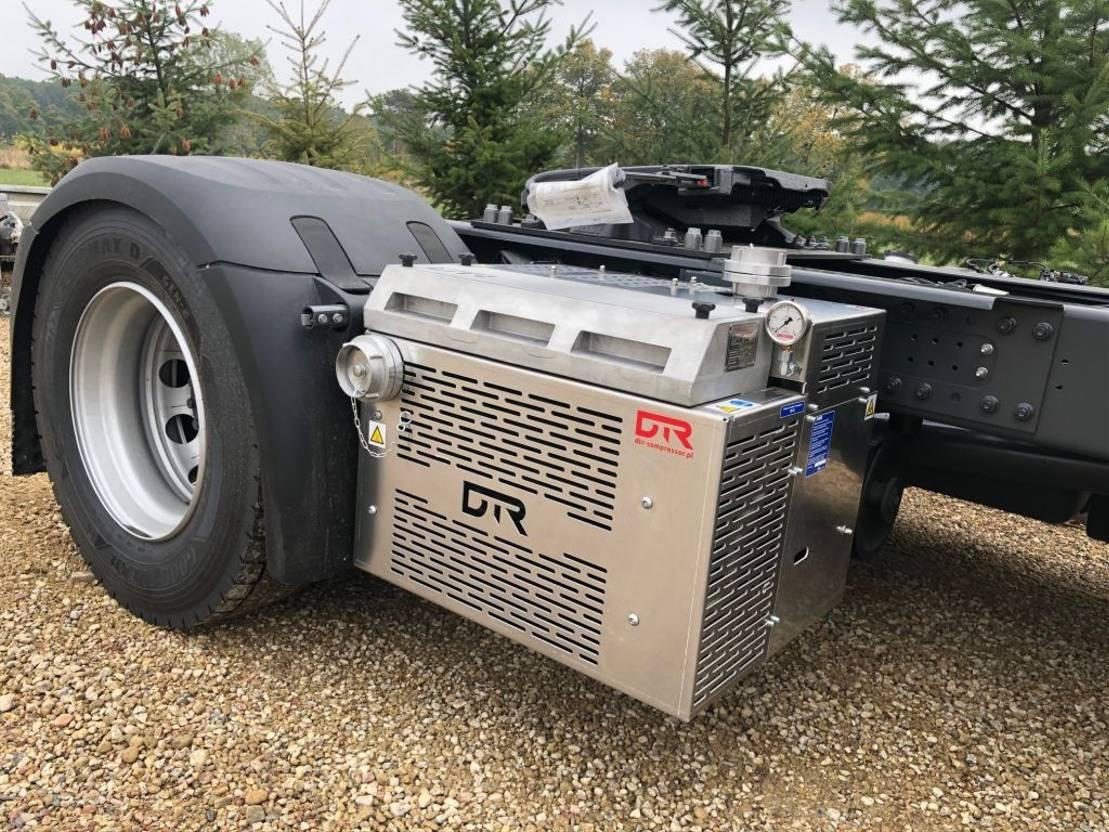 Opbouw vrachtwagen onderdeel Diversen Compressor GHH CS85 with cooler GHH RAND Silocompressor CS85 CS1050