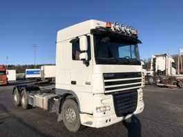 chassis cabine vrachtwagen DAF 105XF460T, 6x2, Euro 5, Manual Gearbox, Retarder, Hub-reduction, Chassi ... 2013