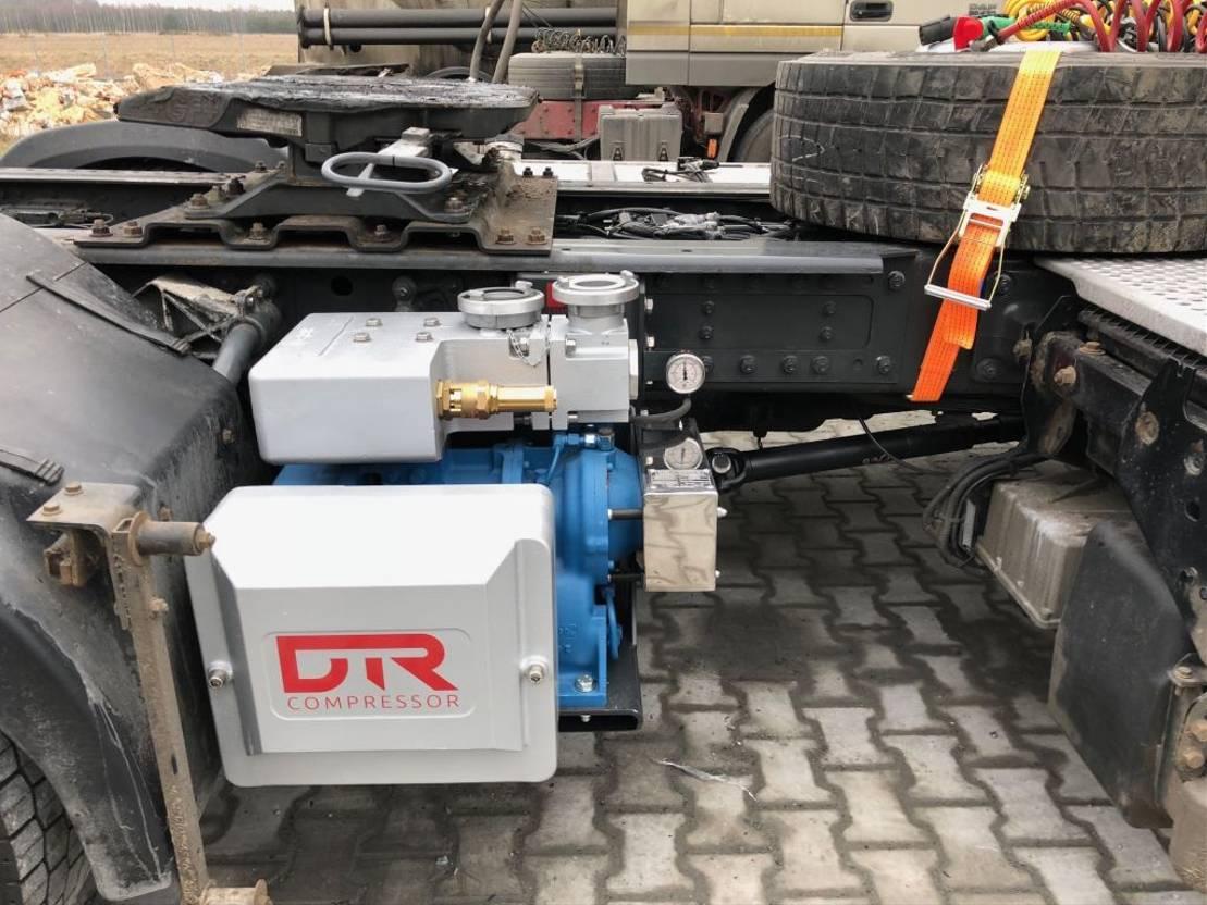 Opbouw vrachtwagen onderdeel Diversen ** GHH Rand CG80 Silocompressor bulk cement instalation