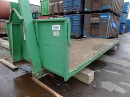 flat rack zeecontainer VERNOOY LAADVLOER 8356 LAADPLATEU