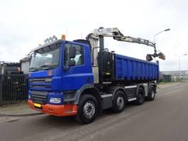 containersysteem vrachtwagen Ginaf X 4241 8 X 4 + NCH KABEL + HMF 1250 CRANE !! EURO 5 !! 2009