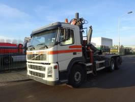 containersysteem vrachtwagen Volvo FM 12 420 6 X 2 HOOK + ATLAS CRANE 2004