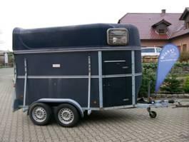 vee aanhanger Schmidt Vollpoly 2 Pferde mit Sattelkammer
