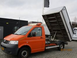 vuilniswagen bedrijfswagen Volkswagen Transporter 2.0 340 kipper 2009