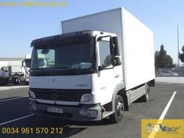 bakwagen vrachtwagen > 7.5 t Mercedes Benz ATEGO 816 2007