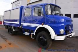 bakwagen vrachtwagen > 7.5 t Mercedes Benz LA 1113 4x4 Mannschaftswagen Seilwinde Neuwertig 1982