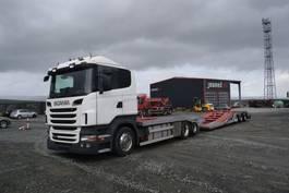 autotransporter vrachtwagen Scania R 480 / LKW Transporter 2012