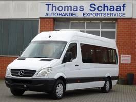 overige bussen Mercedes Benz Sprinter 311 Cdi Maxi 9 Sitze Dachklima Rollstuhllift Euro 4 2008