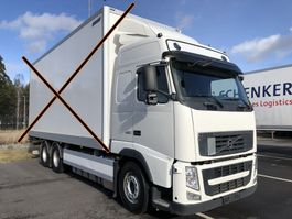 chassis cabine vrachtwagen Volvo FH460, 6x2, Euro 5, Chassi (without box), 2012 2012