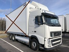 chassis cabine vrachtwagen Volvo FH500, 6x2, Euro 5, Chassi (witout box), 2012 2013