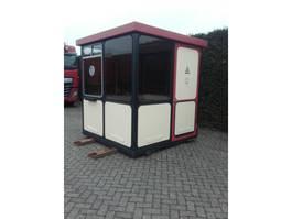 kantoor woonunit container Container unit met ramen