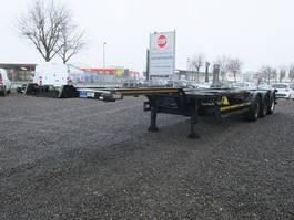 container chassis oplegger Kögel SW 24 40 Fuss Heckausschub 2011