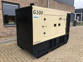 generator Ingersoll Rand G100 John Deere Leroy Somer 105 kVA Supersilent generatorset 2011