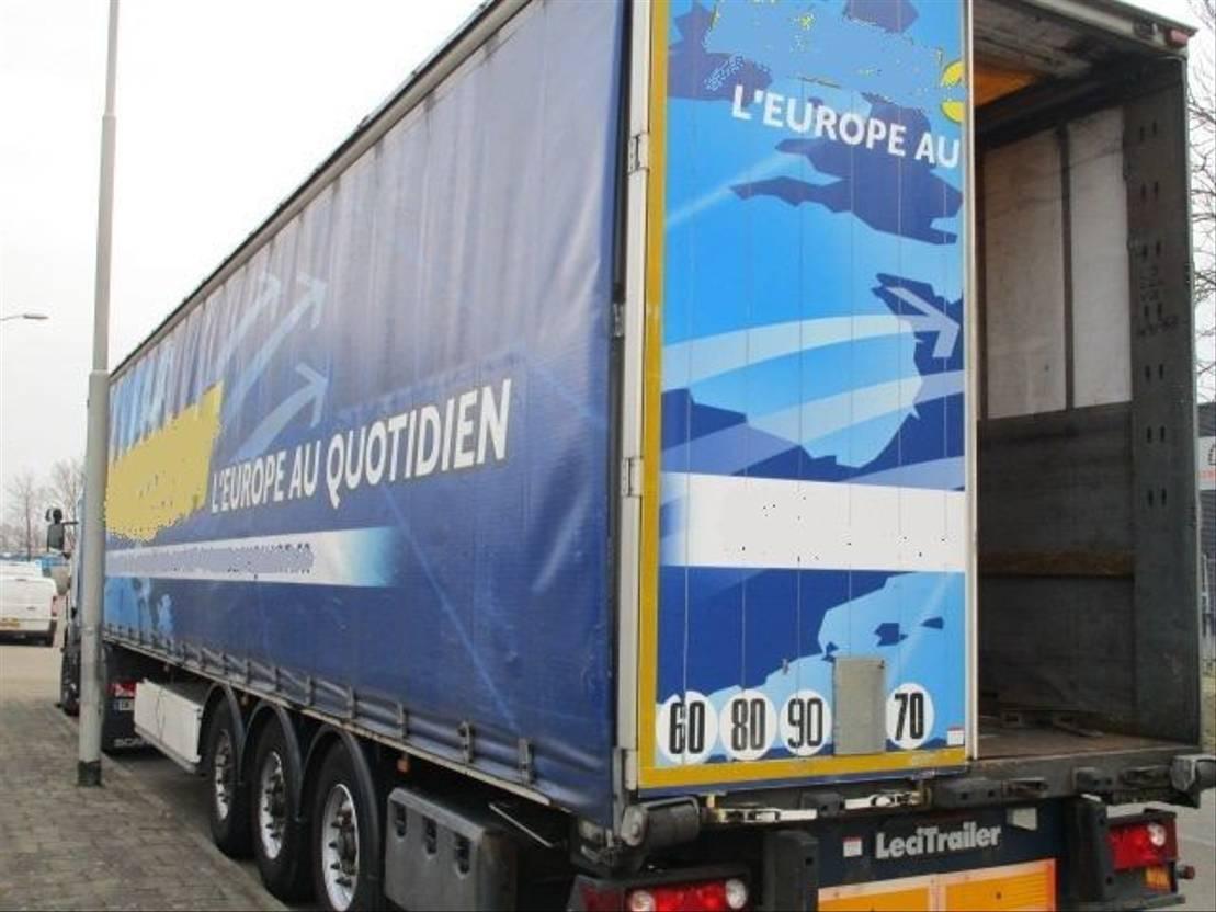 schuifzeil oplegger LeciTrailer 3E20BD4309 2007