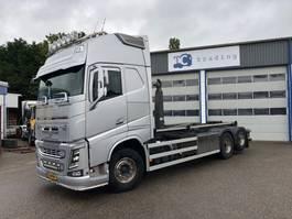 containersysteem vrachtwagen Volvo FH 540 haakarm 6x2 2014