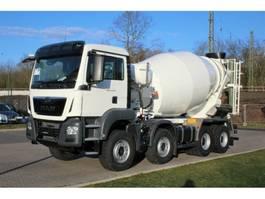 betonmixer vrachtwagen MAN TGS 41430 8X4 EuromixMTP 9m³ 2020