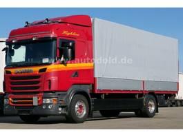 huifzeil vrachtwagen Scania R 440 Pritsche Plane Highline Retarder Euro 5 2010