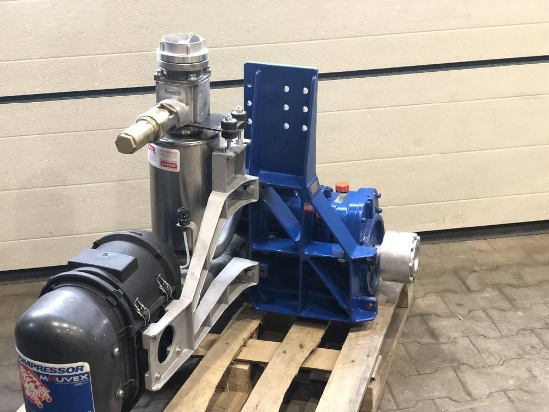 Opbouw vrachtwagen onderdeel Diversen ** Blackmer B600 bulk compressor ghh drum cvs