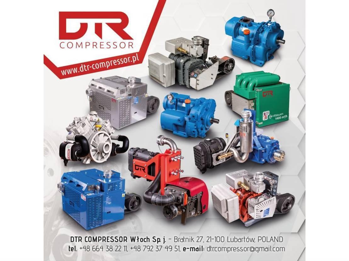 Opbouw vrachtwagen onderdeel Diversen ** GHH RAND CG80 Silokompressor / blackmer mistral drum xk12