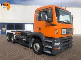 containersysteem vrachtwagen MAN 26.460 6X4 Manual-fuelpomp (full steel) 2003