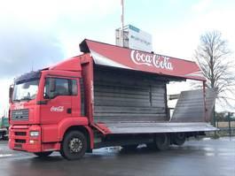 overige vrachtwagens MAN TGA 26.310 FL Getränke Schwenkwand Überdach + LBW 2003