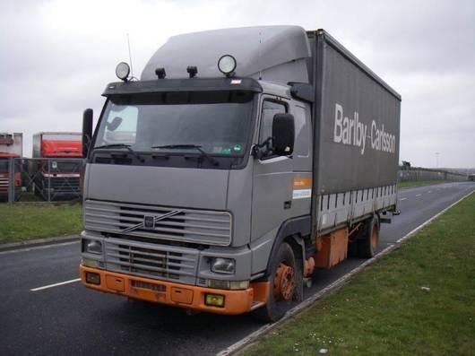 platform vrachtwagen Volvo FH 12 380 HK. 4X2 1996