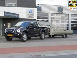 pick-up bedrijfswagen Isuzu D-Max 3.0 Double Cab LS Luxe 4x4 inclusief Fifth wheel oprij aanhangwage... 2007