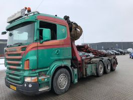 containersysteem vrachtwagen Scania R500 2007