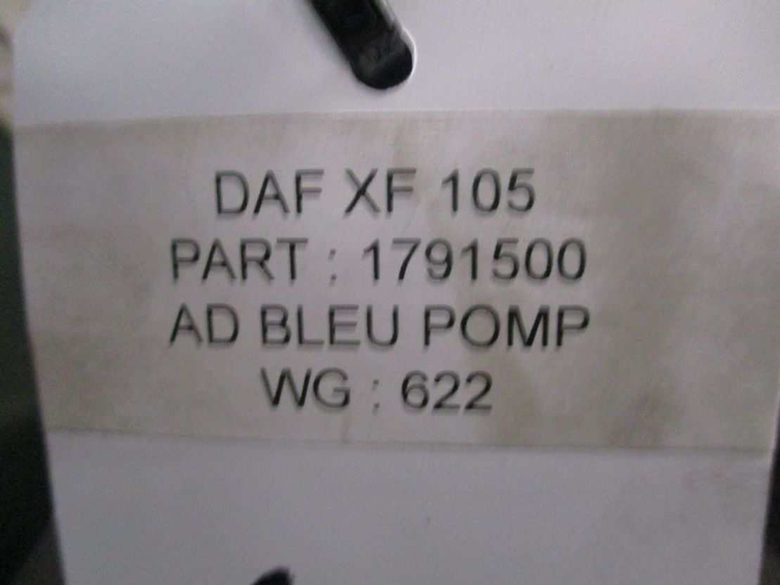 brandstof systeem bedrijfswagen onderdeel DAF 1791500 AD BLUE POMP