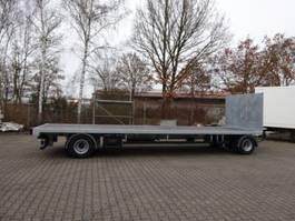 platte aanhanger vrachtwagen Möslein T 2 Plato 7,60 m  2 Achs Jumbo- Plato- Anhänger 2020