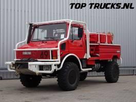 brandweerwagen vrachtwagen Unimog MB U1550 L37 (2150) - Fire Truck - Lier, Winch, Winde - 2.500 ltr Watert... 1995