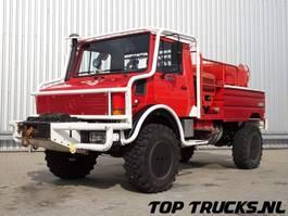 brandweerwagen vrachtwagen Unimog MB U1550 L37 (2150) - Fire Truck - Lier, Winch, Winde - Watertank - Pomp... 1996