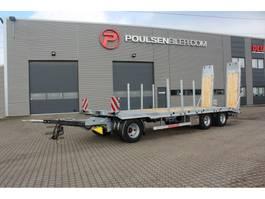 dieplader aanhanger Hangler 3-axle machinery trailer 2020