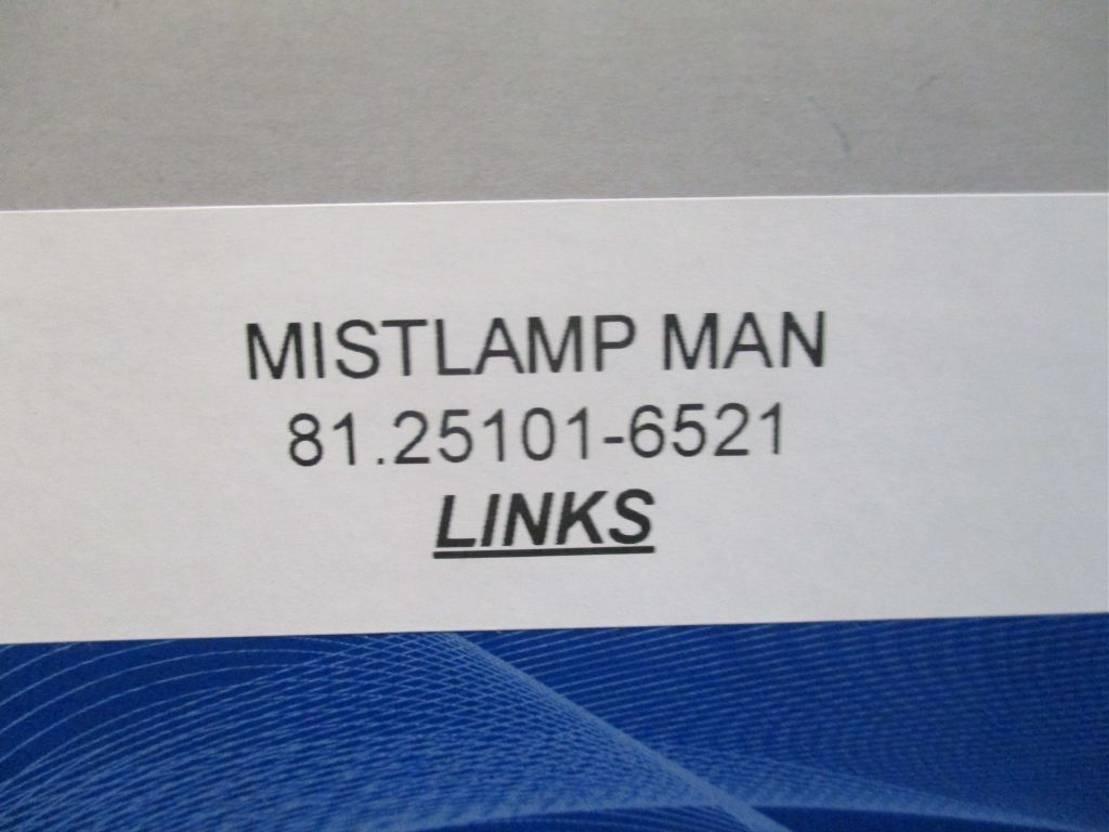 Mistlamp vrachtwagen onderdeel MAN 125101-6521 mistlamp links