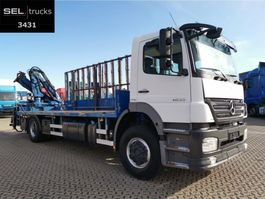 kraanwagen Mercedes Benz Axor 1833 L / Glastransport / Kran / German 2008