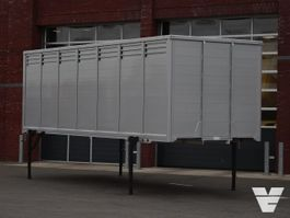 veewagen vrachtwagen Finkl 1-Stock livestock box for BDF-system - NEW! - Nur Box 2020