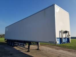 gesloten opbouw oplegger Lag O-3-40 03  / kasten trailer / koffer / gesloten opbouw 2007