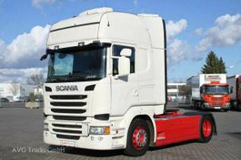 standaard trekker Scania R 410 Topline Standklima LDW ACC Volluft 2Tanks 2015