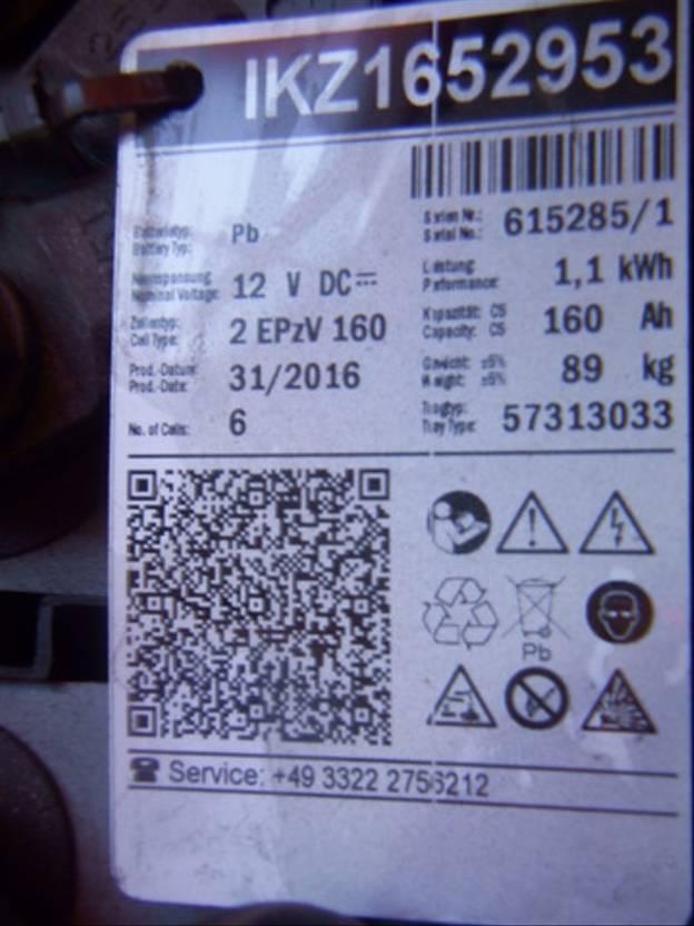 vorkheftruck BT SWE 080L - Batterie 31/2016 2009