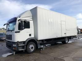 bakwagen vrachtwagen > 7.5 t MAN TGM 15.240 BL Euro 4  Koffer 8 m20 2008