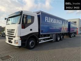 bakwagen vrachtwagen > 7.5 t Iveco Stralis /LBW./Komplett!!/Lift-Lenk/Rückfahrkam. 2012