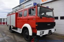 bakwagen vrachtwagen Magirus Deutz 120 - 23 AW LF16 4x4 V8 nur 10.298 km -Feuerwehr 1989