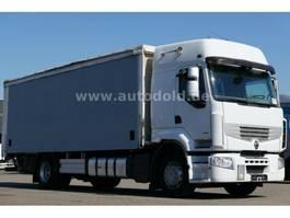 huifzeil vrachtwagen Renault Premium 430 DXi PritschePlane Retarder LBW Euro5 2010